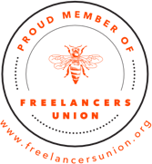 Membership Badge for the Freelancers Union