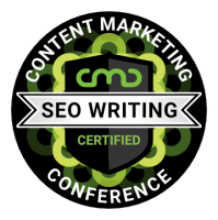 Completed Andy Crestodina's SEO Writing Course at the 2020 Content Marketing Conference.
